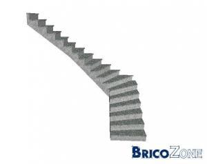 Conception escalier int�rieur en b�ton