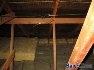 Isolation plancher grenier