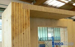 ossature bois ou construction b�ton