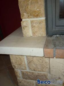 peinture pierre chemine peinture cheminee un dreary cheminace en brique gets a new look. Black Bedroom Furniture Sets. Home Design Ideas