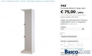 placard dressing lapeyre ikea brico maubeuge. Black Bedroom Furniture Sets. Home Design Ideas
