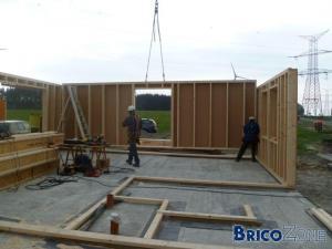 Ma construction ossature bois - photo