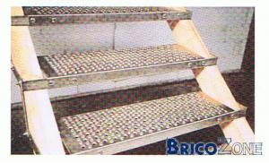 escalier ext�rieur en acier galvanis�