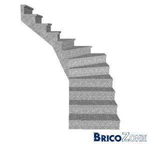 Aide mesure et conseille pour escalier en béton.