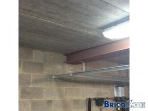 Faux-plafond dans garage