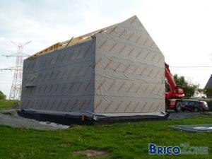 Construction MOB - Infiltration d'eau
