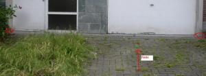 Seuil porte (façade)