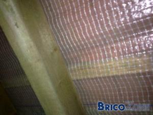 Quel �paisseur de laine pour cette toiture (photo)