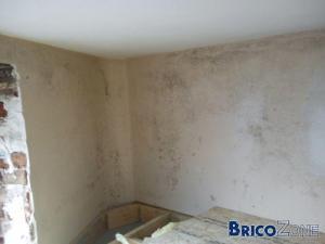condensation entre faux plafond...