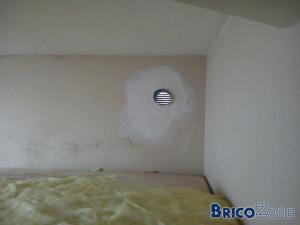 facade classe donc je pouvait pas abaisser les chassis - Faux Plafond Salle De Bain Humidite