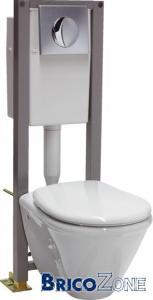 MOB : fixer un WC suspendu sur plancher OSB