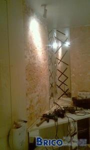 réparation mur