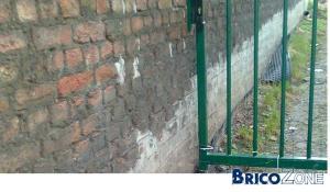Soubassement pour isoler les murs extérieurs