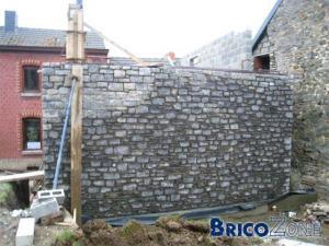 Comment faire un mur en pierre.