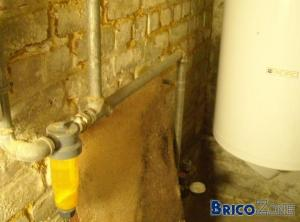 Filtre eau - contrôle