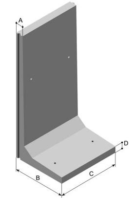 palissade b ton retenue de terre. Black Bedroom Furniture Sets. Home Design Ideas