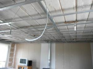 Faux plafond...?