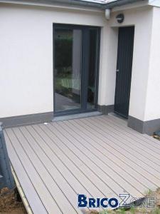 construction terrasse composite. Black Bedroom Furniture Sets. Home Design Ideas