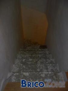Escalier béton quart tournant gauche dangeureux