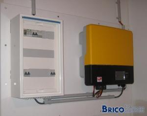 Disjoncteur photovoltaique