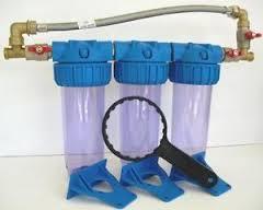 Supprimer filtres sur arriv�e principale d'eau