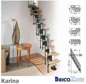 Escalier trop raid