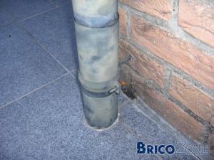 R paration descente zinc - Reparer une gouttiere en zinc ...