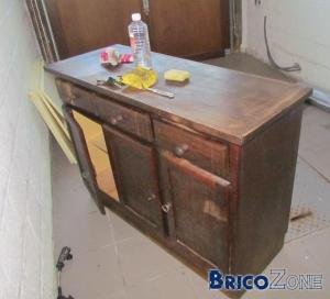 restaurer un meuble - besoin d'info - Comment Restaurer Un Vieux Meuble