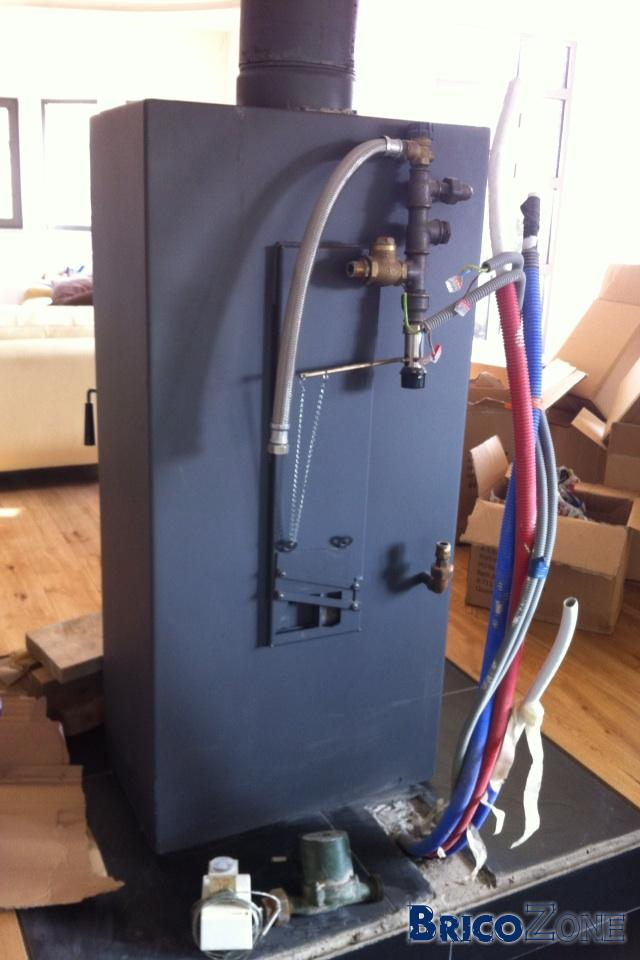 raccordement poele a bois avec chaudiere gaz. Black Bedroom Furniture Sets. Home Design Ideas