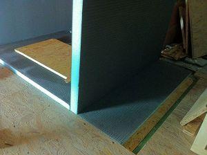 Carrelage sur plancher bois natte ditra ou panneaux wedi - Epaisseur panneau osb ...