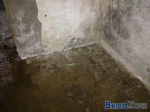 Niveau sous le mur, comment consolider?