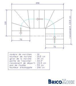 escalier h licoidal 180. Black Bedroom Furniture Sets. Home Design Ideas