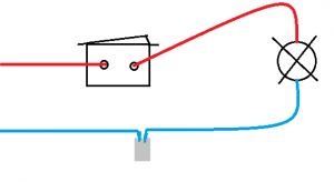 brancher un interrupteur � bascule