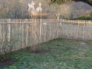 Cl ture provisoire - Cloture de jardin chataignier ...