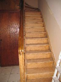 La r novation de mon escalier en bois venis for Poncer porte bois