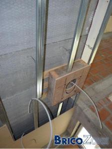 faux plafond avec caisson plus bas integré
