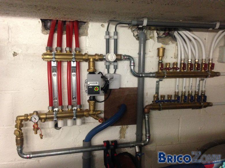 Conseil circuit radiateurs et 2 zones chauffage au sol - Vanne thermostatique connectee ...