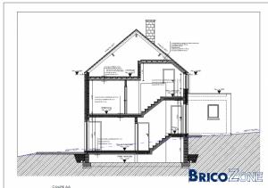 modifications int rieures battre mur porteur et escalier en demi niveaux. Black Bedroom Furniture Sets. Home Design Ideas