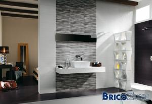 monter un mur en blocs de verre pour s paration de douche l 39 italienne. Black Bedroom Furniture Sets. Home Design Ideas