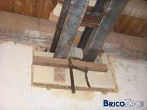 Renforcer un plancher par deux IPE