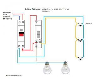 4 interrupteurs 1 lampe. Black Bedroom Furniture Sets. Home Design Ideas