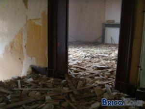 Remise en état grande chambre