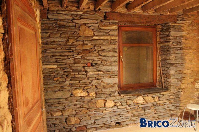 Sablage mur de pierre int rieur - Mur en pierre interieur ...