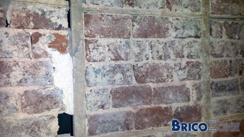 help torchis tenait en place mur interieur en briques. Black Bedroom Furniture Sets. Home Design Ideas