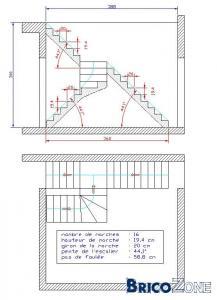 escalier atypique et complexe pour demain...