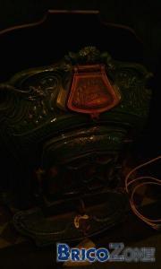 ancien poele bois Triomphe salamandre - prix