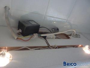 Salle de bain - ampoules encastrées en volume 3