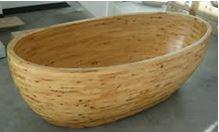 Baignoire en bois