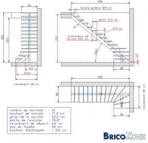 Plan escalier bois exterieur cheap escalier bois for Plan escalier bois exterieur
