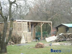 Construire son abri de jardin à toît plat